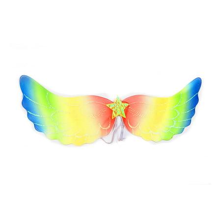 Mozlly Mozlly Angel Wings For Adults w/ Garterized Strap 10.5