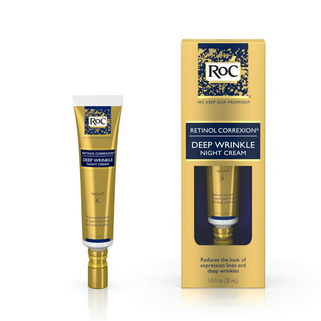 RoC Retinol Correxion Deep Wrinkle Anti-Aging Night Face Cream, 1
