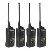 Motorola RDU4160D (4 Pack) RDX Business Series Two-Way UHF Radio w/ 16 Channel