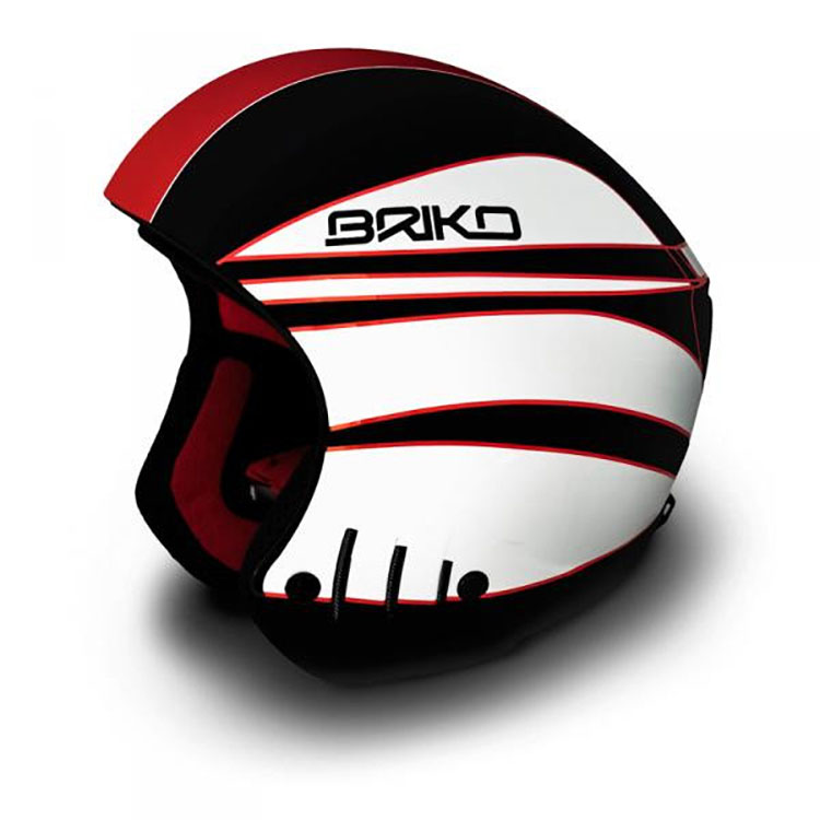 Briko Rocker Super Junior Helmet Black Red White Size: 54CM by SOGEN SPORTS INC.