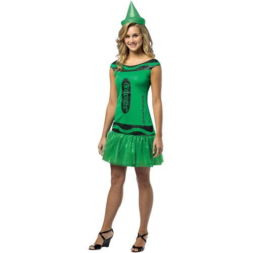 Crayola Adult Halloween Tank Dress Costume