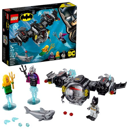LEGO Super Heroes Batman™ Batsub and the Underwater Clash 76116 - Supper Hero