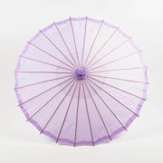 "Quasimoon 32"" Light Purple Parasol Umbrella, Premium Nylon by PaperLanternStore"