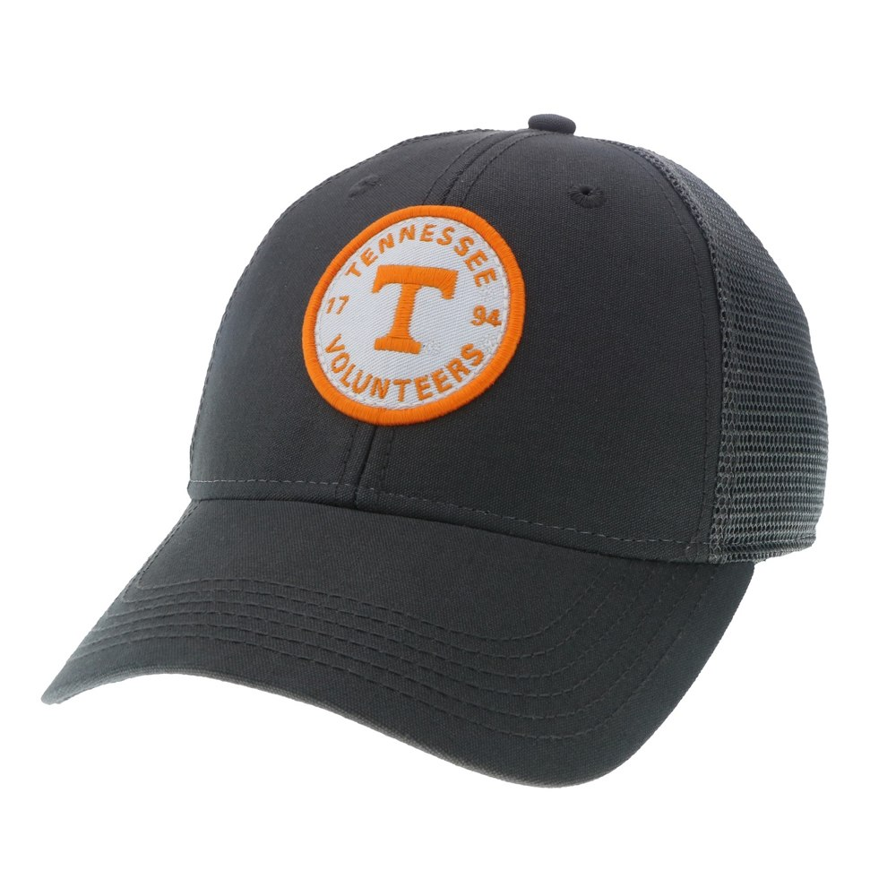 Tennessee Volunteers Grey Lo-Pro Snapback Cap - Circle Patch