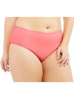 30ea1ab338f Product Image Women s Plus-Size Retro High-Waisted Bikini Swimsuit Bottom