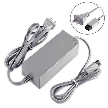 Insten AC Power Supply Cord Adapter char ger For Nintendo Wii (Replacement)