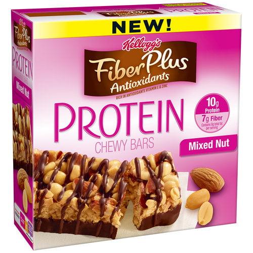 Fiber plus protein bars