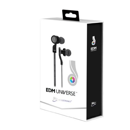 MEE audio EDM Universe D1P In-Ear Headphones with Headset Functionality (PLUR/Black) - image 2 of 2