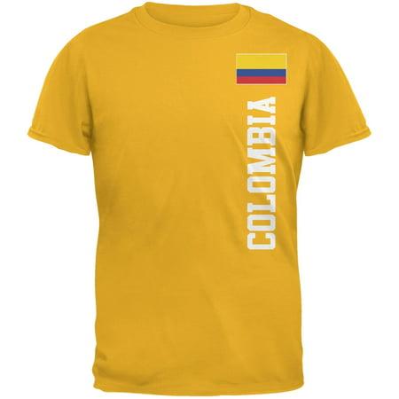 6ecc5cf76cf World Cup Colombia Yellow Adult T-Shirt - Walmart.com
