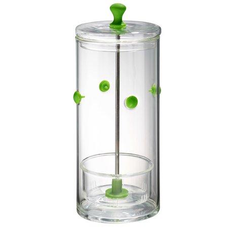 Winston Porter Glass Herb Keeper Storage Jar