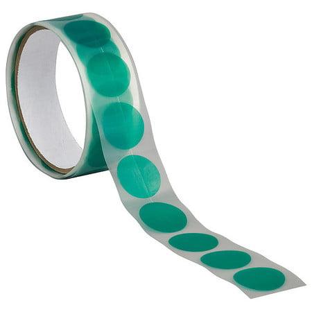 """TAPECASE Masking Tape,Polyethylene,Green,1"""",PK100 15C641"""