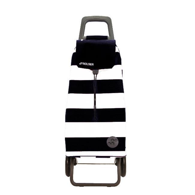 Rolser 8420812910656 MOU053 RG Shopping Trolley  Mountain Lido Convert- White-Black - 2 Units