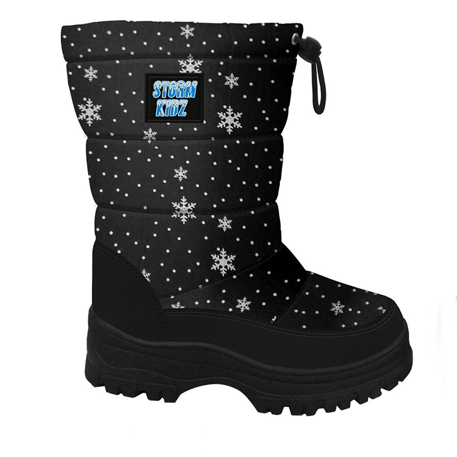 Many Colors Storm Kidz Girls Cold Weather Snow Boot Puffy Toddler//Little Kid//Big Kid
