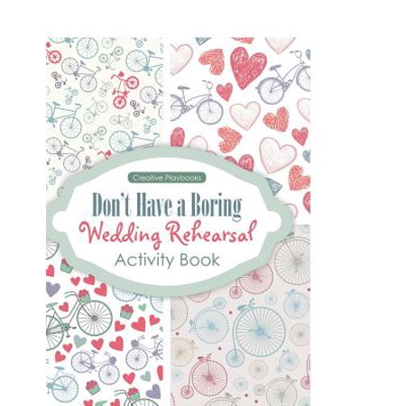 Don't Have a Boring Wedding Rehearsal Activity Book