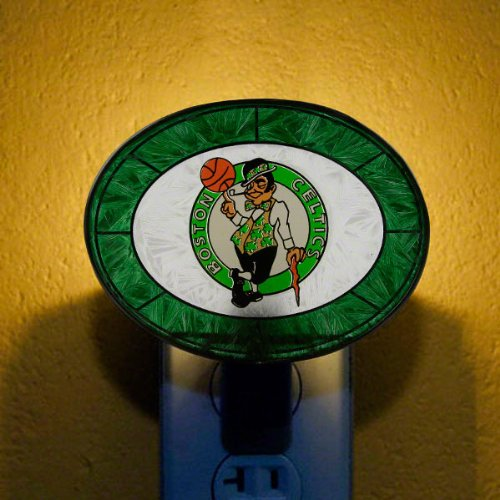 NBA - Boston Celtics Art Glass Nightlight