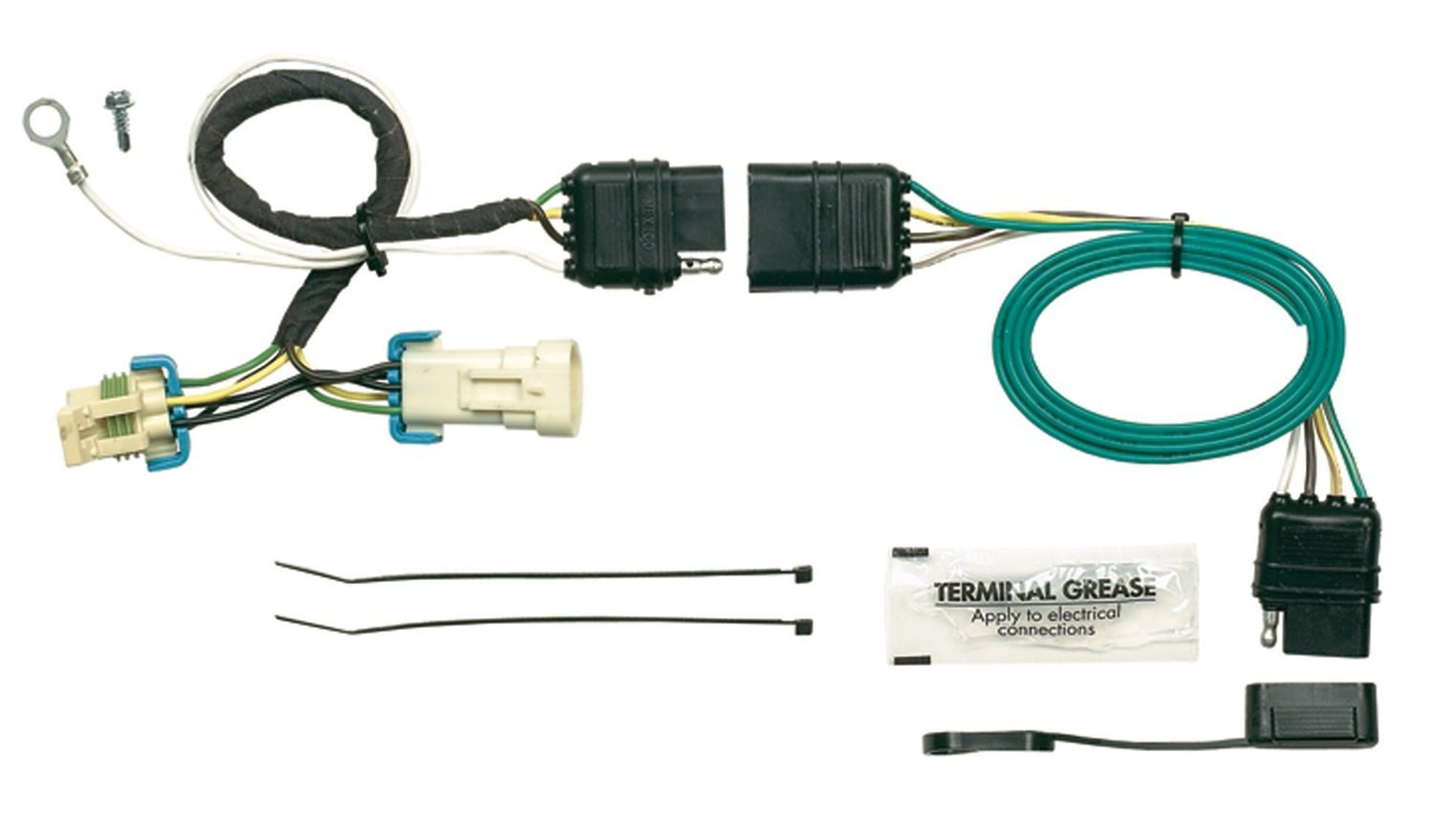 Isuzu Trailer Wiring Connector Circuit Diagram Symbols Harness Hopkins 41135 Plug In Simple Vehicle Kit T Connectors Allow Rh Walmart Com 4 Pin