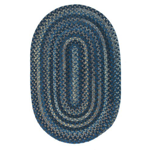 Colonial Mills Oak Harbour Braided Rug - Laguna
