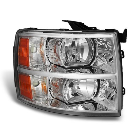 2010 Silverado (Fit 2007-2013 Silverado Headlights Passenger Side Replacement 2008 2009 2010)