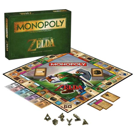 Tokens In Monopoly (Usaopoly Monopoly - The Legend Of Zelda )