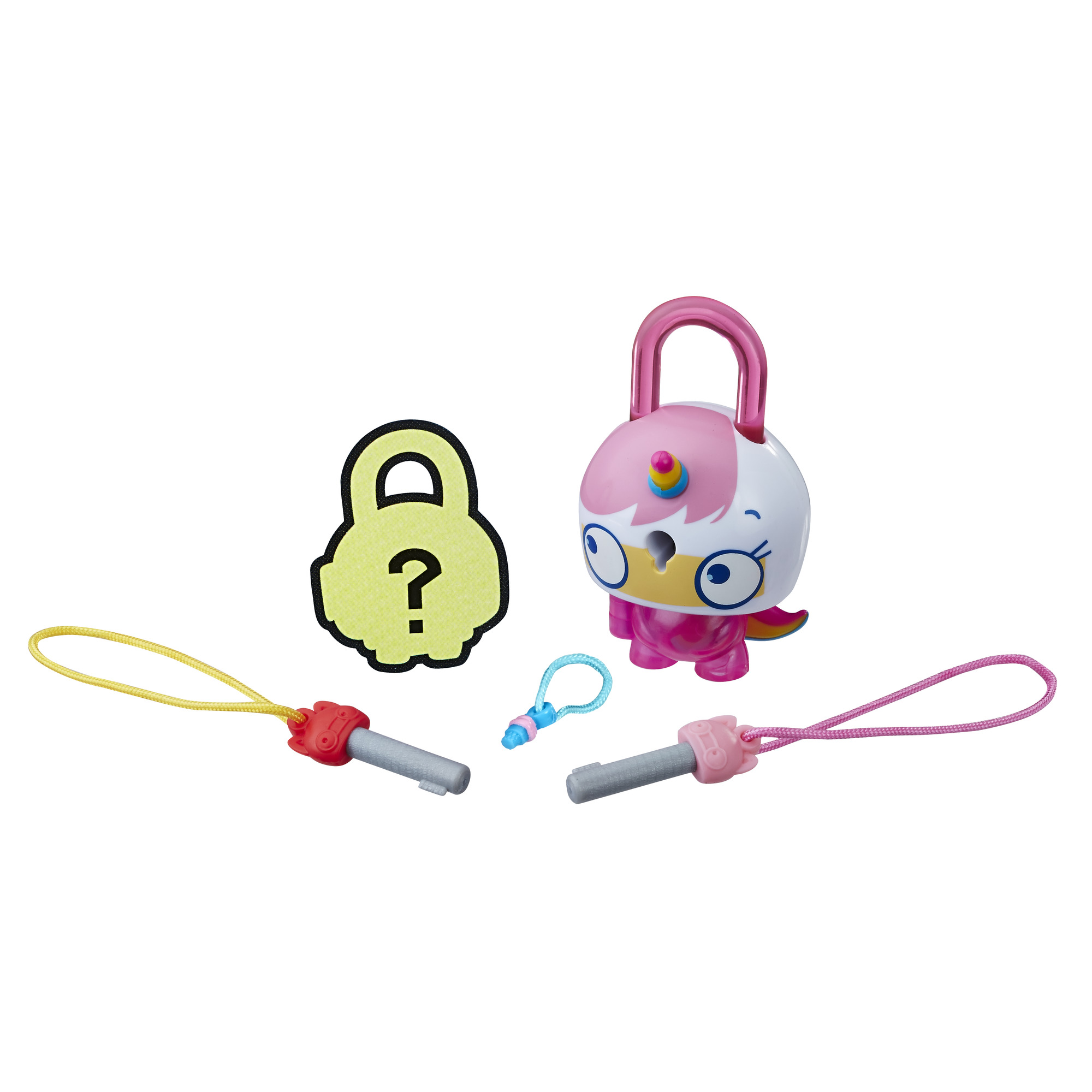 Lock Stars Basic Assortment Pink Cat-Unicorn -- Series 1
