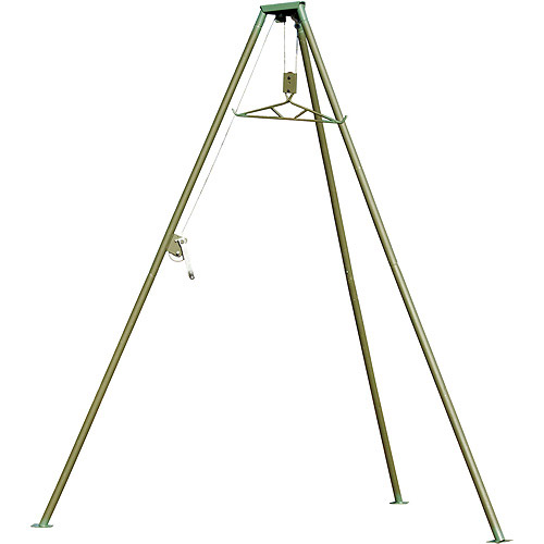 Hunter's Pointe All Steel Portable Tripod Game Hoist