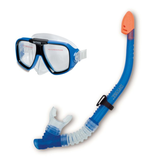 Reef Rider Swim Goggles Mask & Snorkel by Intex