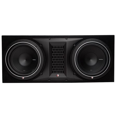 Rockford Fosgate 1000W Punch Dual P1 10 Inch Loaded Subwoofer Enclosure P1-2X10