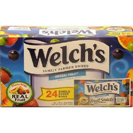 WELCHS FRUIT SNACK - MIXED FRUIT 1.75 oz Each ( 24 in a Pack - Welchs Fruit Snacks