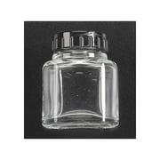 Glass Jar w/Lid 2oz (50cc) Multi-Colored