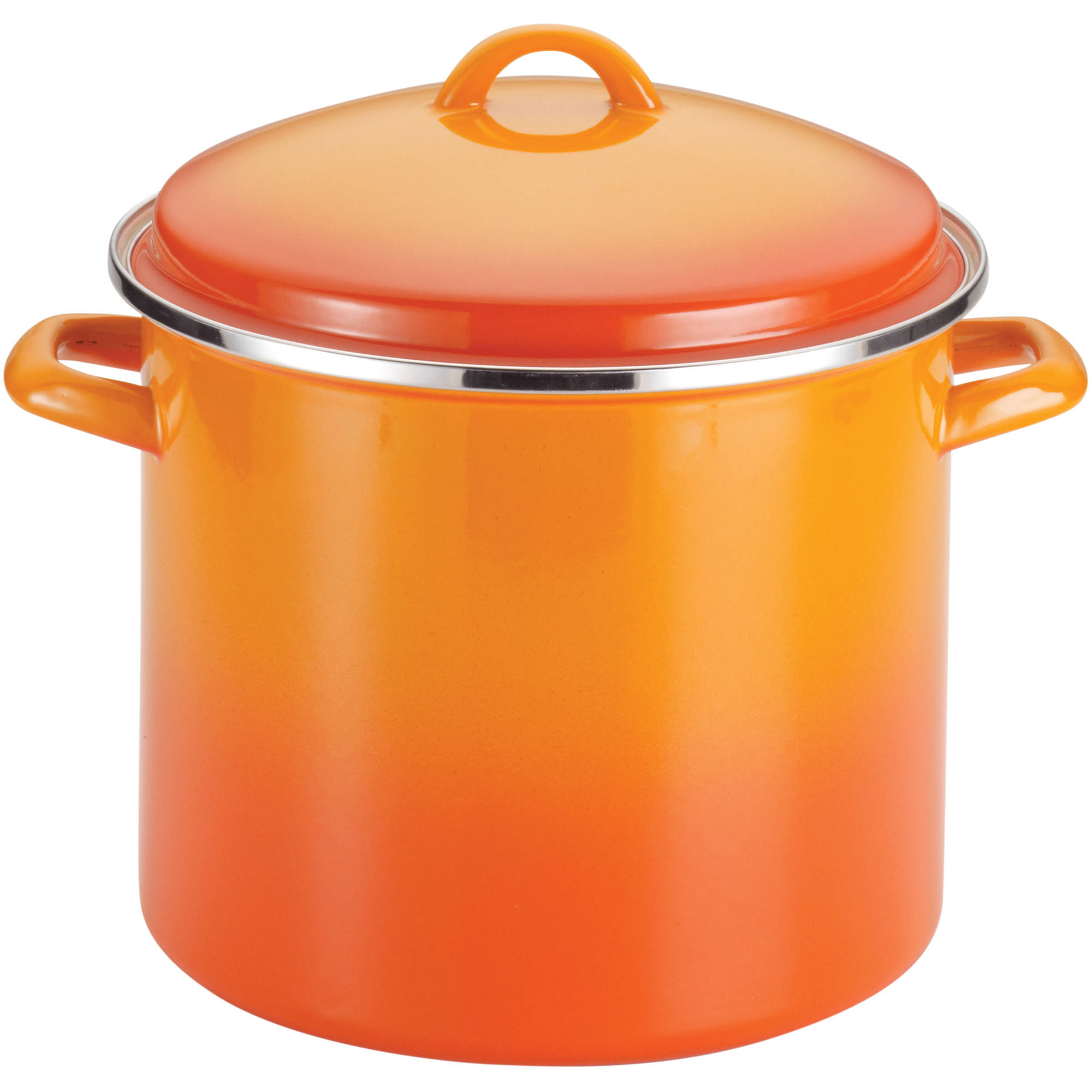 Rachael Ray Enamel Covered Steel 12 Quart Stockpot, 1 Each
