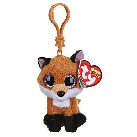 Ty Beanie Boos Slick The Fox Clip With Glitter Eyes - Walmart.com eb905ea53