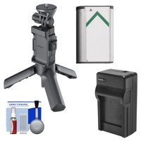 Sony VCT-STG1 Shooting Grip + Mini Tripod for AS50, AS200V, AS300, X1000V, X3000 Action Cams with NP-BX1 Battery + Charger + Kit