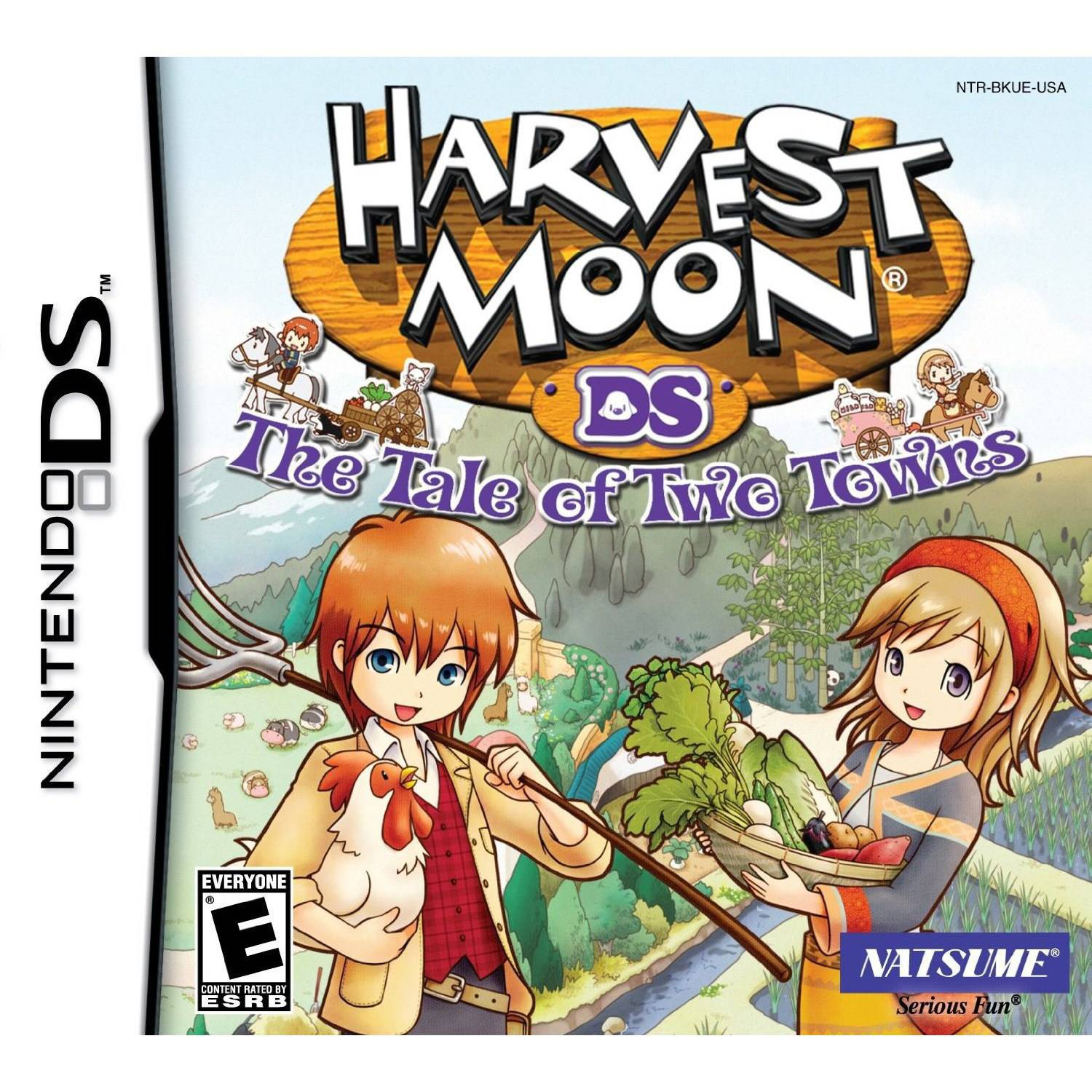 Harvest Moon 3D - The Tale of Two Towns - Nintendo 3DS