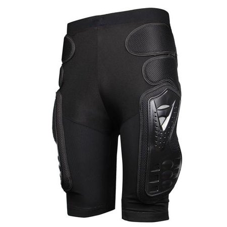 Motorcycle Motocross Racing Ski Armor Pads Sports Hips Legs Protective Pants Hockey Knight Gear (Leg Armor Motorcycle)