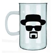 AMC Breaking Bad Heisenberg Beaker Beer Mug or Stein