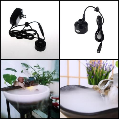Ultrasonic Mist Maker Fogger Water Fountain Pond Fogger Atomizer Air Humidifier