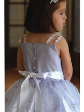 Angels Garment Light Purple Faux Shantung Flower Girl Dress 2T-6