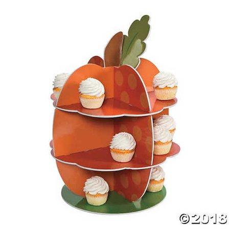 Lil' Pumpkin Cupcake Stand ()
