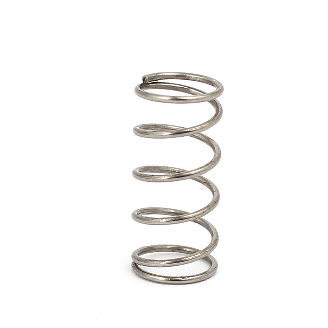 0.6mmx7mmx15mm 304 Stainless Steel Compression Springs Silver Tone 10pcs - image 2 of 3