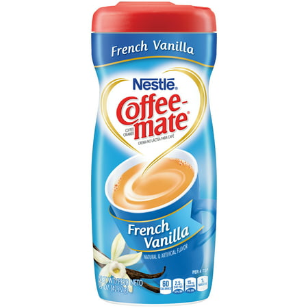 Nestle Coffeemate French Vanilla Powder Coffee Creamer 15 oz. Canister