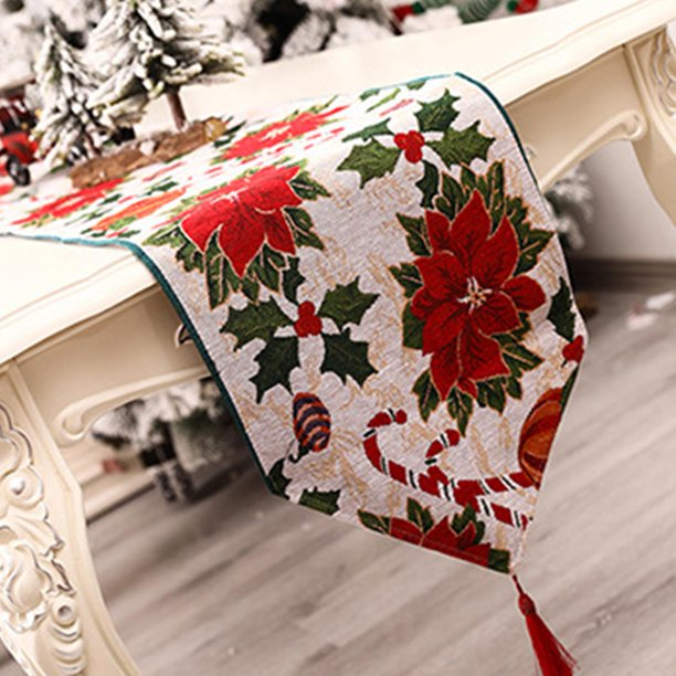 Christmas Table Runner Washable Innovative Table Decoration Walmart Com Walmart Com