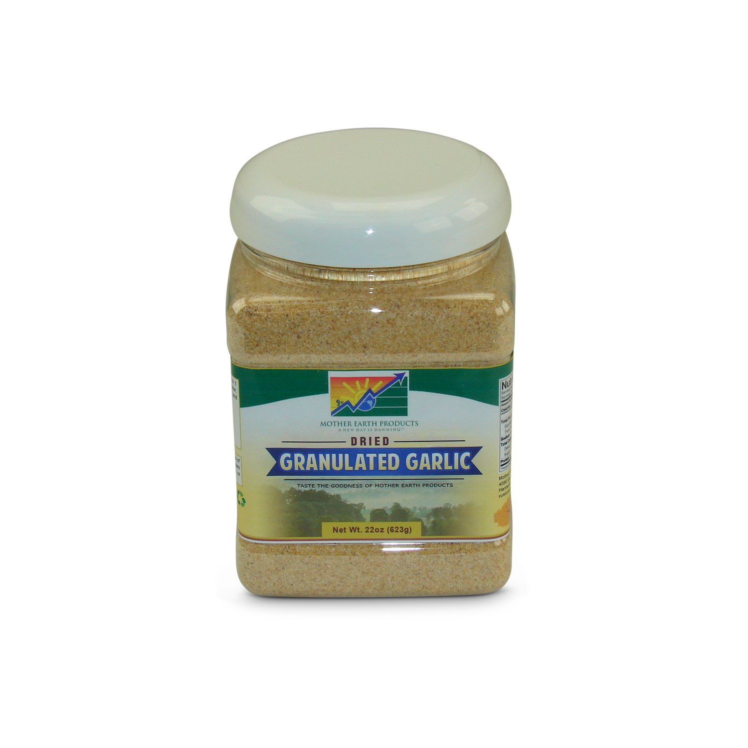 Mother Earth Products Dehydrated Granulated Garlic, jar by Mother Earth Products