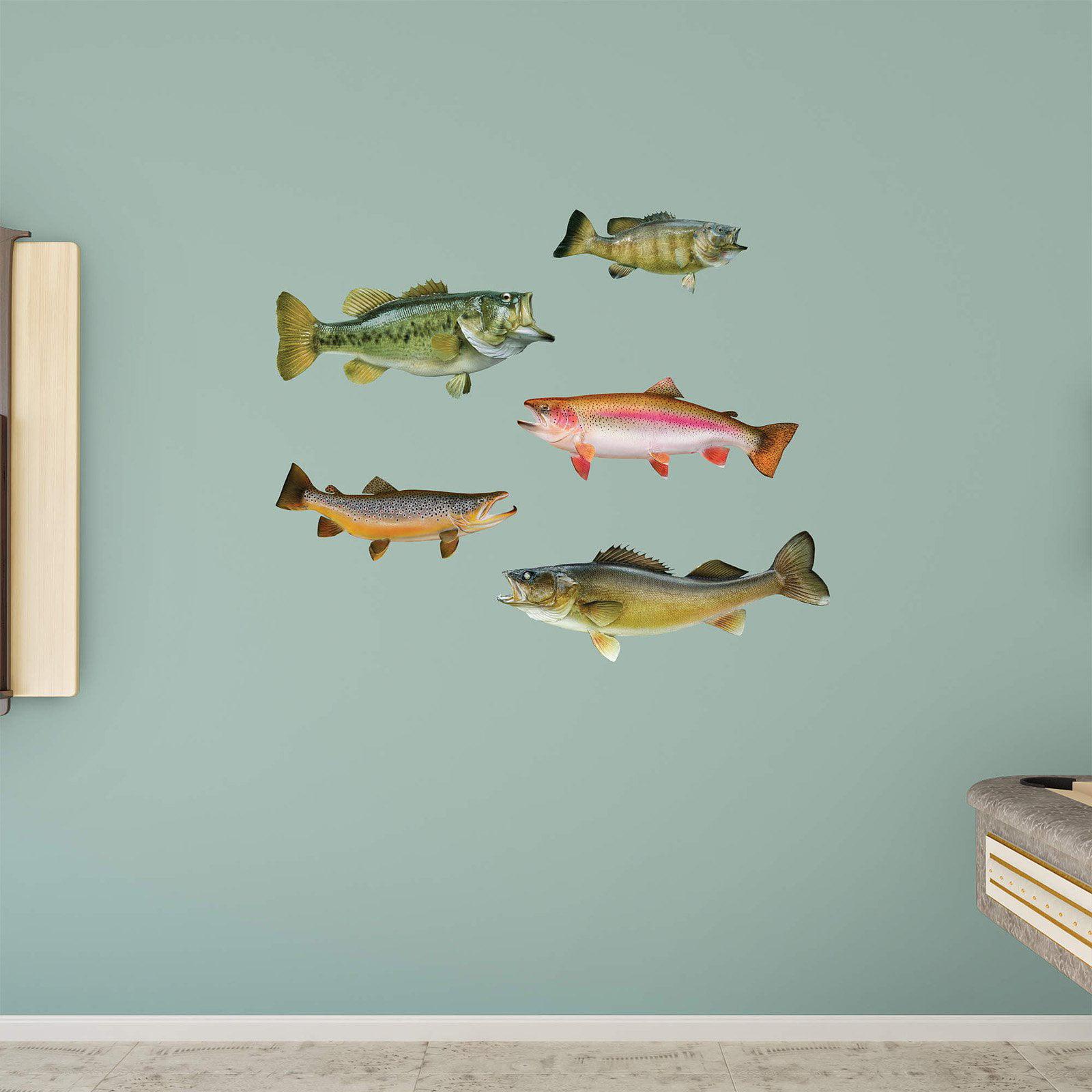 Fathead Fish Wall Decal