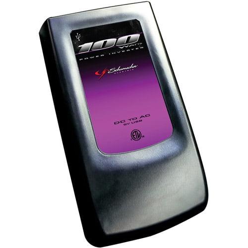 Schumacher Electric 100W Slim Inverter USB/AirPort
