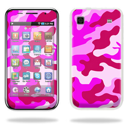 Mightyskins Protective Vinyl Skin Decal Cover for Samsung Galaxy Player 4.0 MP3 Player wrap sticker skins Pink Camo