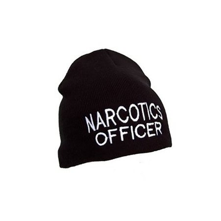 Law Enforcement Cuffless Beanie - Narcotics Officer - Law Enforcement Party Supplies