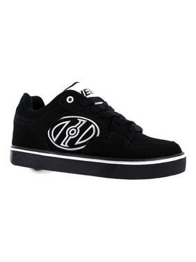 Heelys Motion Plus Black / White Ankle-High Skateboarding Shoe - 5M