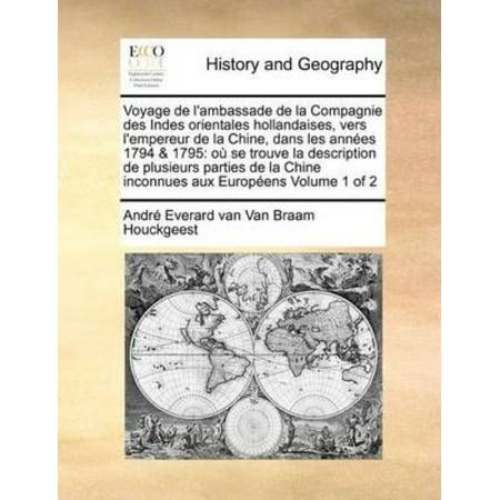 Voyage de L'Ambassade de La Compagnie Des Indes Orientales Hollandaises, Vers L'Empereur de La Chine, Dans Les Annees 17 - image 1 de 1
