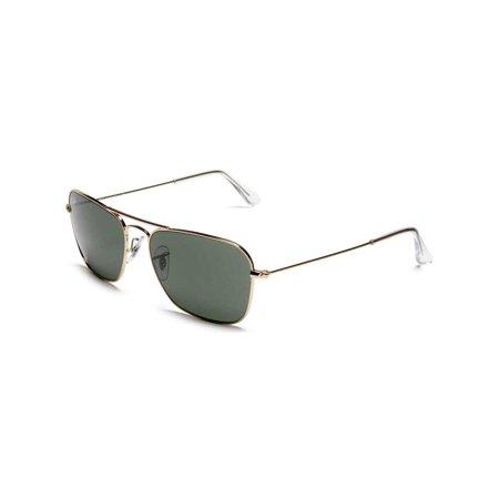 5264365b33 Ray-Ban Men s Caravan RB3136-004-55 Grey Geometric Sunglasses - image 1 ...
