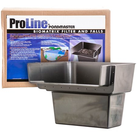 Biological Waterfall - Pondmaster Pro Series Pond Biological Filter & Waterfall Pro 1000 - (12L x 9W x 8H) - Pack of 3